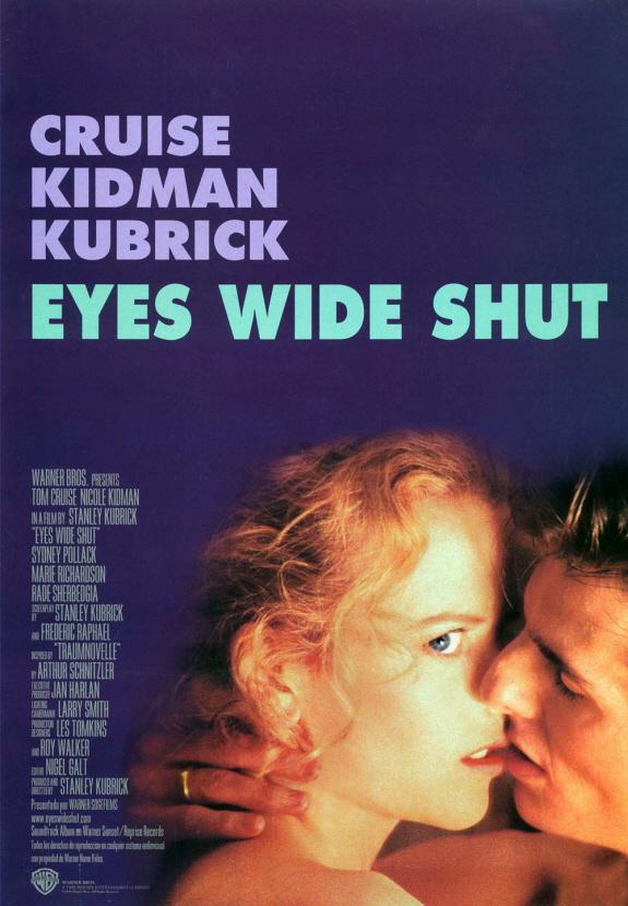 トム・クルーズ、ニコール・キッドマン出演『アイズ ワイド シャット(Eyes Wide Shut)』映画レビュー