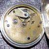 鍵巻き式-1890年製J.W.Benson(J.W.ベンソン)の銀無垢懐中時計