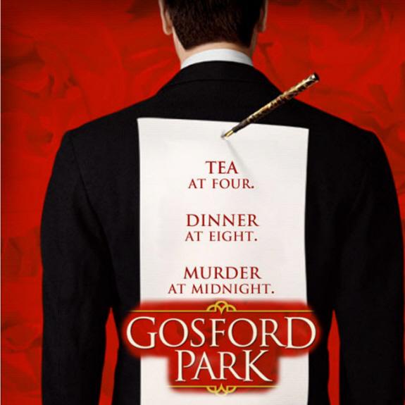 ロバート・アルトマン監督、ケリー・マクドナルド、マギー・スミス出演の『ゴスフォード・パーク』タイトル画像
