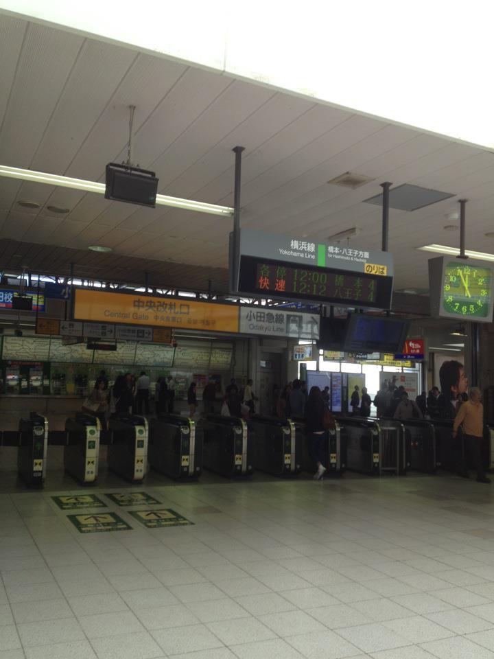 JR町田駅の様子