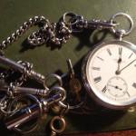 1886年製のJ.W.BENSON(J.W.ベンソン)鍵巻き式懐中時計