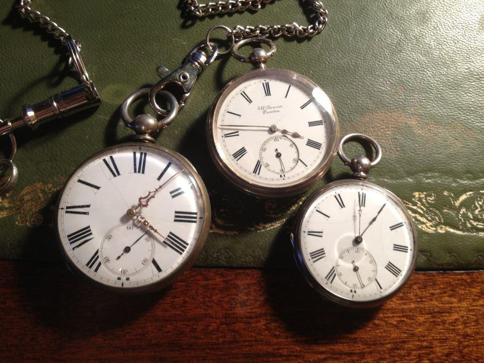 英国製J.W.BENSON(J.W.ベンソン)の懐中時計