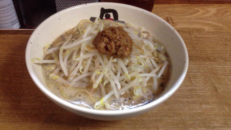 麺処 丹行味素(菊名店)の焦がし味噌麺(750円)