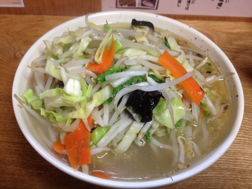 麺処丹行味素(菊名店):今回は『野菜 タン麺(タンメン)』を満喫!