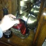 お酒が隠せる西洋甲冑を模した置物(アンティーク風インテリア)