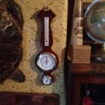 壁掛けインテリアグッズ:英国調の気象計【EMPEX (エンペックス) 温度・湿度・気圧計 アメリカーナ気象計】