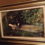19世紀のイギリスの画家:ジョン・エヴァレット・ミレー(ミレイ)の複製画「オフィーリア」