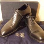 英国靴:クロケット&ジョーンズ(Crockett&Jones)の革靴『オードリー(Audley)』