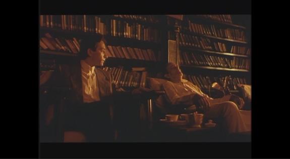 アントニオ・タブッキ原作の映画『インド夜想曲』からの一コマ