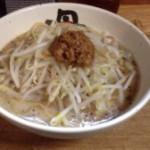 麺処 丹行味素(菊名店):東急東横線・JR横浜線菊名駅西口で『焦がし味噌麺』を満喫。