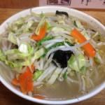 麺処 丹行味素(菊名店):今回は『野菜 タン麺(タンメン)』を満喫!