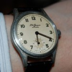 英国製~1940年代、J.W.BENSON(J.W.ベンソン)の手巻式腕時計