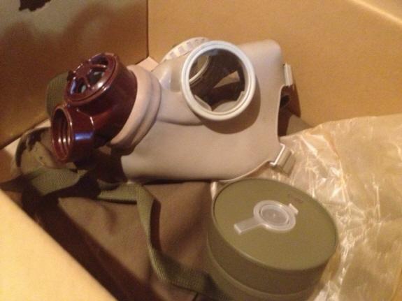 チェコ軍のガスマスク『MODEL Z』が到着