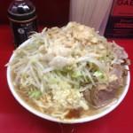ラーメン二郎中山店の大ラーメンで撃沈!:JR横浜線中山駅
