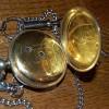 1900年製のJ.W.BENSON(J.W.ベンソン)英国製・銀無垢の鍵巻き式懐中時計