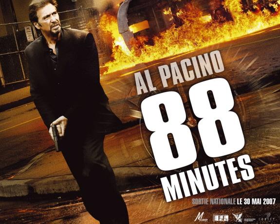 アル・パチーノ主演『88ミニッツ(原題:88 Minutes)』映画レビュー