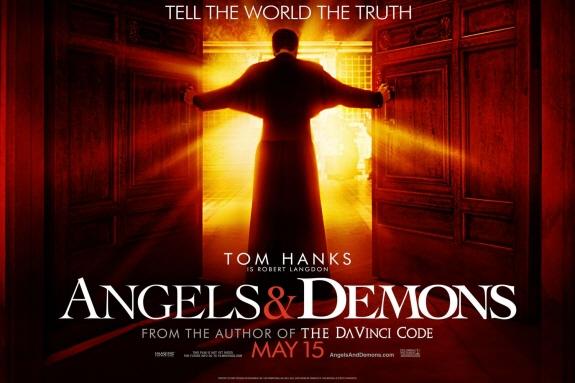 トム・ハンクス、ユアン・マクレガー出演の『天使と悪魔(現代:Angels & Demons)』タイトル画像
