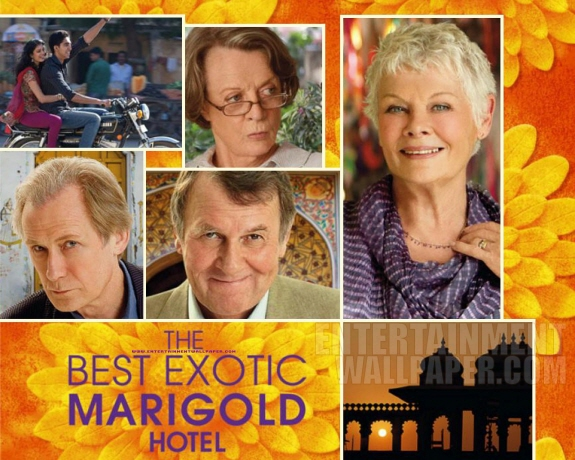 『マリーゴールド・ホテルで会いましょう(原題:The Best Exotic Marigold Hotel)』映画レビュー