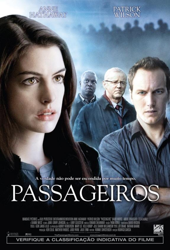 アン・ハサウェイ主演のサスペンス映画『パッセンジャーズ』のイメージ画像
