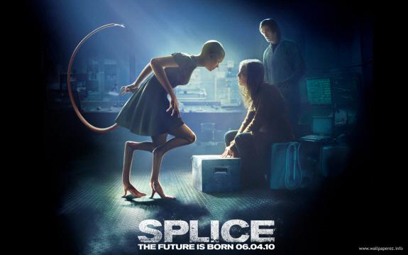 エイドリアン・ブロディ、サラ・ポーリー主演のSFサスペンス『スプライス(原題:SPLICE)』映画レビュー