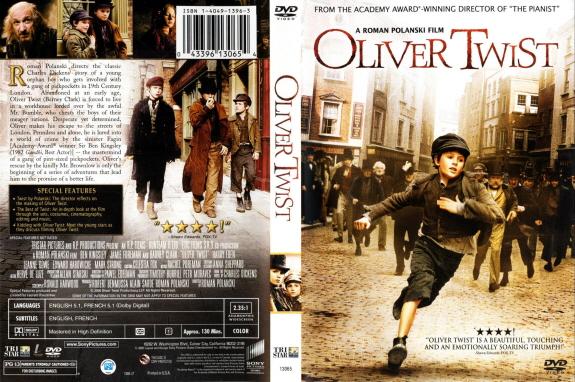 『オリバー・ツイスト(原題:Oliver Twist)』パッケージ画像