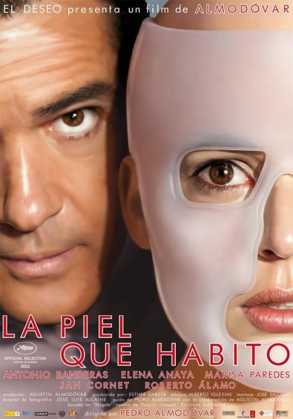 アントニオ・バンデラス、 エレナ・アナヤ出演『私が、生きる肌(原題:La piel que habito)』映画レビュー