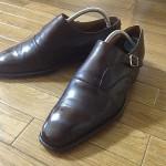 英国靴:チーニー(CHEANEY)のサイドモンクストラップシューズ