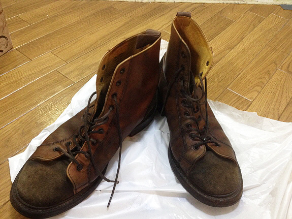 英国靴:トリッカーズ(Tricker's)のモンキーブーツ(M6087)