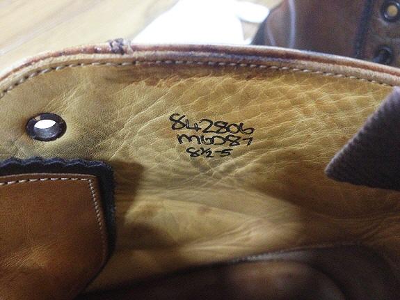 英国靴:トリッカーズ(Tricker's)のモンキーブーツ(M6087)サイズ8H
