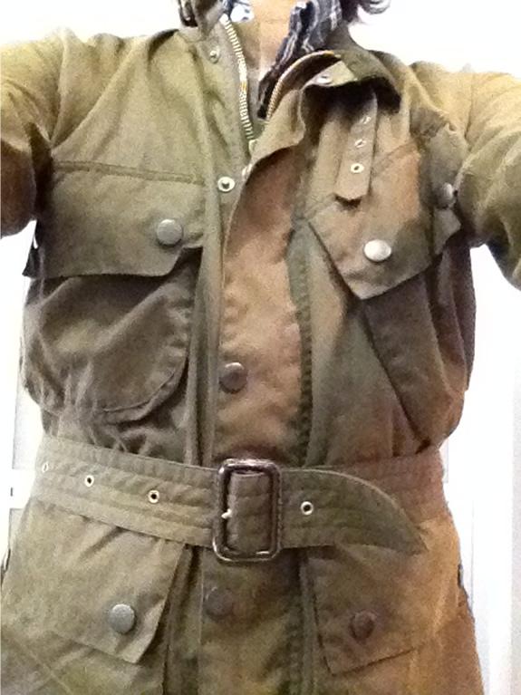 ポール・スミス(Paul Smith)のオイルドジャケットを着用してみた。