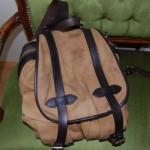 バッグのエイジング・色落ち記録1:FILSON(フィルソン)のリュックサック