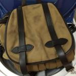 バッグのエイジング・色落ち記録2:FILSON(フィルソン)のリュックサック