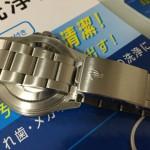 超音波洗浄器で腕時計を洗浄!