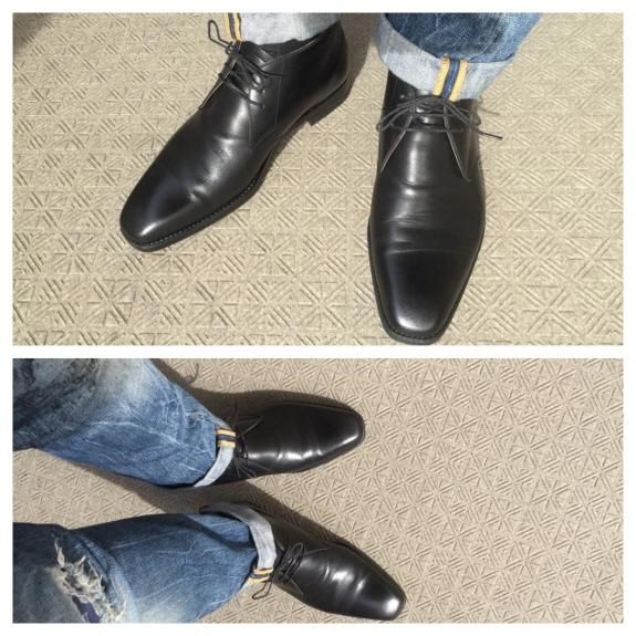 大塚製靴のチャッカブーツ(ジョージブーツ)