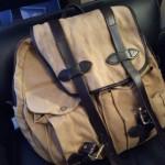バッグのエイジング・色落ち記録3:FILSON(フィルソン)のリュックサック