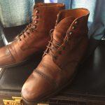 英国靴:チャーチ(Church's)のブーツ(2000年記念モデル)